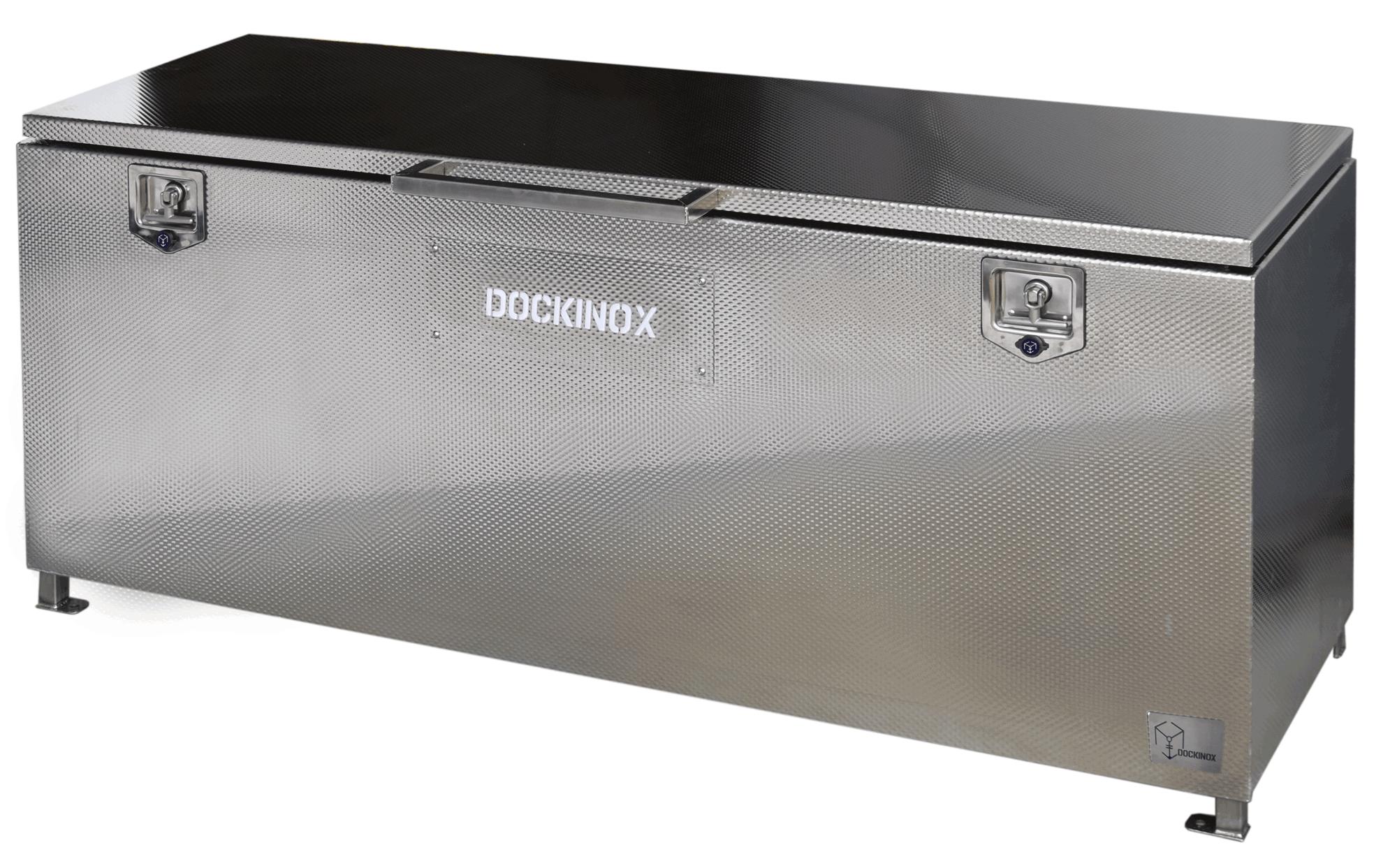 Dockinox opbergbox RVS